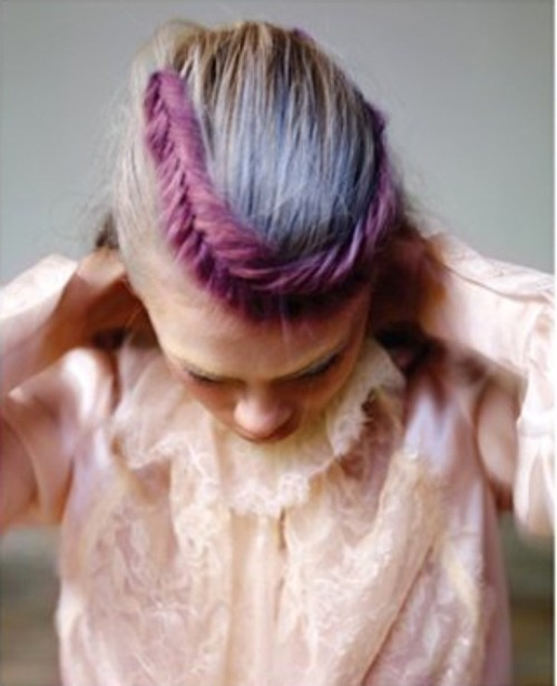 color #hair #plait #color #colour