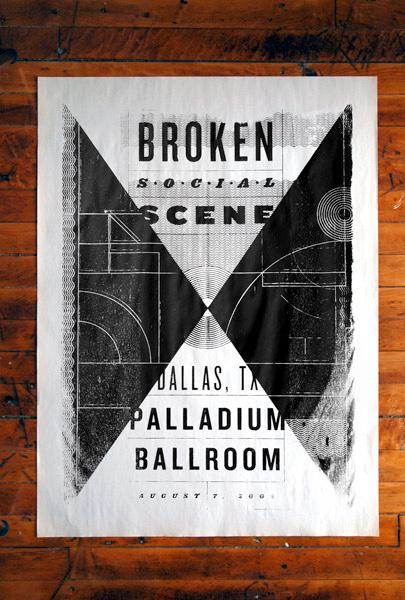 Broken Social Scene Poster #single #color