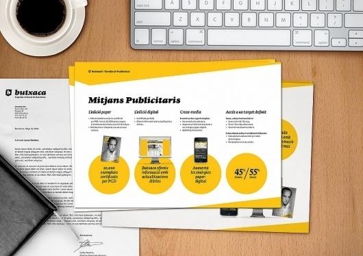 Más tamaños | Nueva Identidad Corporativa de Butxaca, l'Agenda Cultural de Barcelona* | Flickr: ¡Intercambio de fotos! #direction #design #art #branding