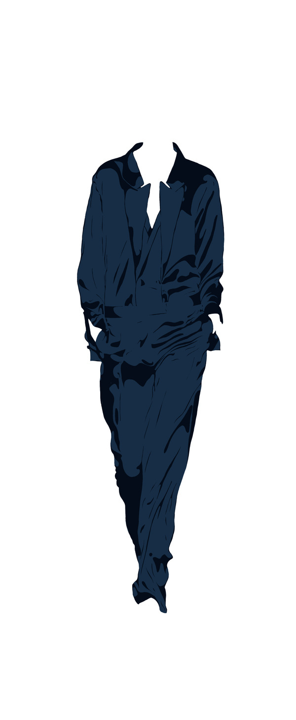 I WANNA WORK FOR STELLA! on Behance #fashion #blue #illustration #clothes