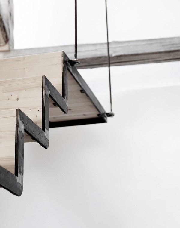 Blacksmith's workshop in Lesbos, Greece - emmas designblogg #interior #design #decor #deco #stairs #decoration
