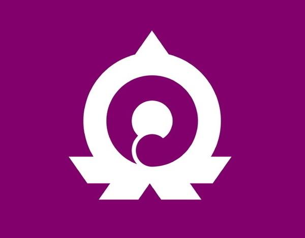 Kanji municipal icon, Japan #logo
