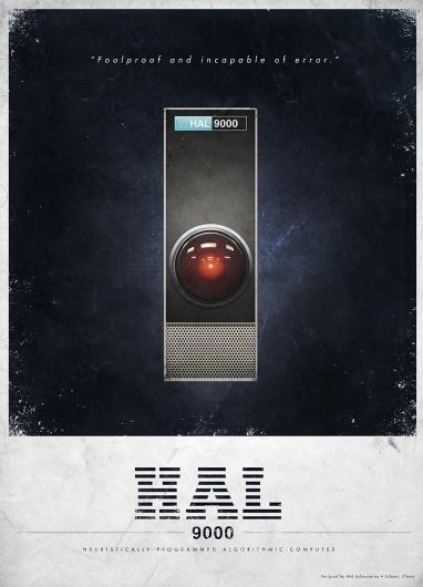 All sizes | HAL 9000 Advertisment | Flickr - Photo Sharing! #post #kubrick #hal #fiction #vintage #poster #film #science #stanley