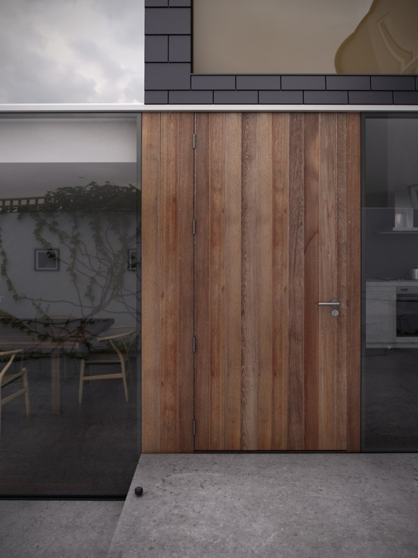 """Image Spark Image tagged """"door"""", """"architecture"""", """"wood"""" dmciv #architecture #wood #renderings"""