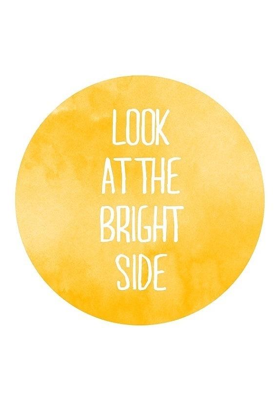 ...bright side #type #design