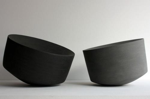 Lyla & Blu #interior #ceramics #design #tilted #black #grey