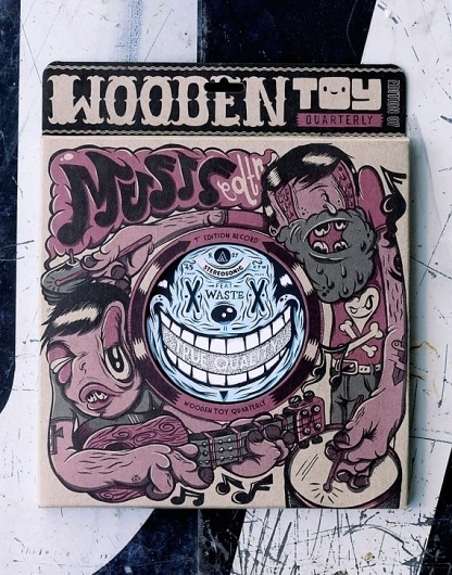 - Wooden Toy Quarterly (The Mook) - #timba #wooden #smits #vintage #toy