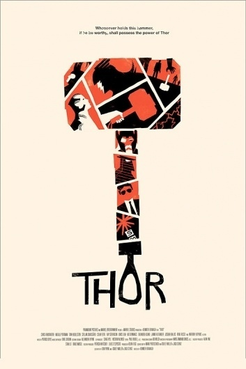 thor.jpg 534×801 pixels #thor #illustration #movie #poster