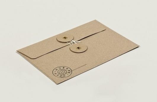 Deep Search | Christian Bielke #print #identity #branding #stationery