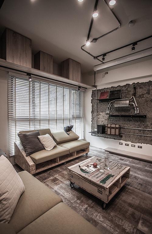 PC House – Industrial Interior Design