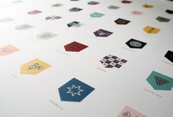 7   A Top Nike Designer Rebrands Game Of Thrones   Co.Design: business + innovation + design #gold #logo #brand #rebrand