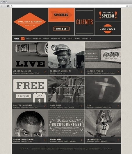 TDH_site_2_800.jpg (748×872) #inspiration #branding #design #website #digital