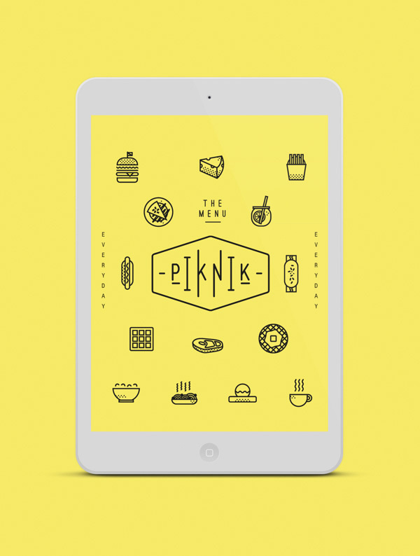 The Ultimate Trends for UI Inspiration: Animated Concepts, Menus, SVG graphics and more - Image 8 | Gallery #flat #line #ux #icon #yellow #ui