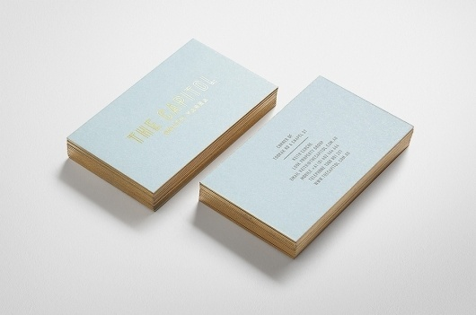 News/Recent - Fabio Ongarato Design | Identity #business #card #identity #gold #foil