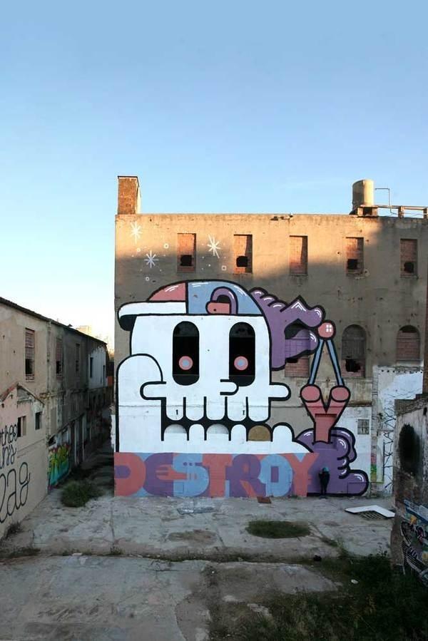 Introducing The Mind Blowing Artist Grito | Abduzeedo Design Inspiration #graffiti #design #art #street