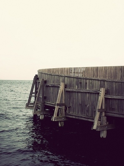 Seawater Lido on the Behance Network #photography #architecture