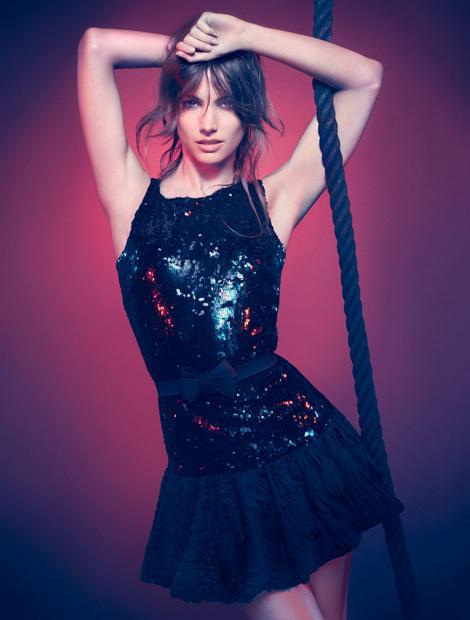 Jessica Miller by Michelangelo di Battista for Blugirl Campaign #fashion