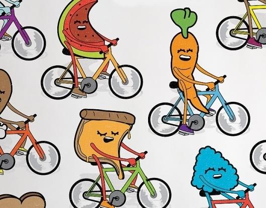 Chris Nguyen : Art Direction   Motion   Development   Illustration #chris #bicycle #denver #colorado #nguyen #bike #art
