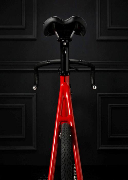 Achemele #red #bicycle #fixed #wheel #bike