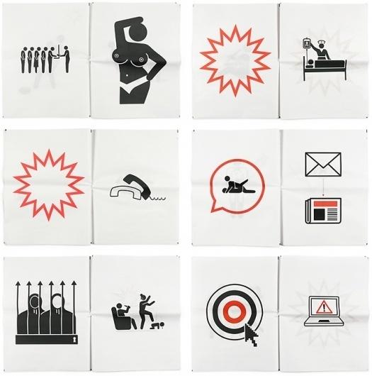 Newspaper Pictograms : loft27design #newspaper #pictograms