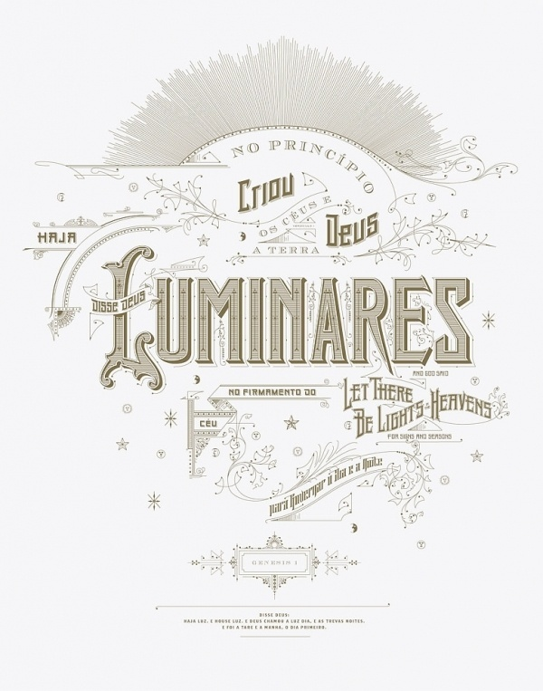 Kevin Cantrell Design / Luminares Poster #lettering #luminares #illustration #poster #type #hand #kevincantrell