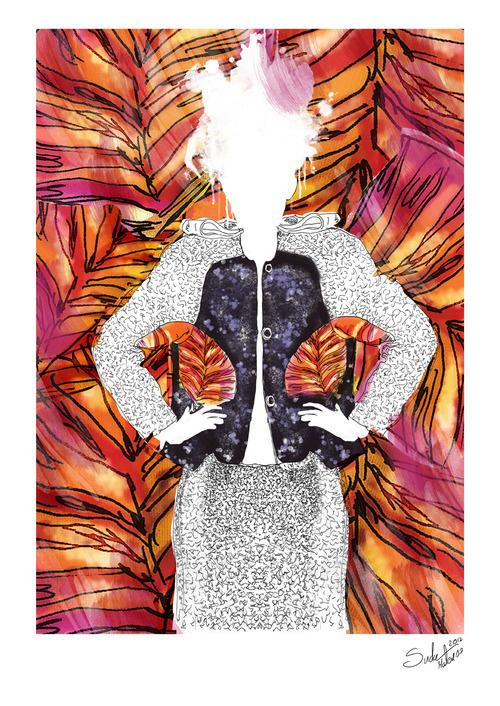 Illustration inspired by clothes from ZUO CORP (polish brand) #illustrations #polak #graphi #polska #victim #artis #design #zuo #poland #logo #project #illustrator #moda #sztuka #fashion #suda #corp #mateusz #ilustracja #mateuszsudacom #art #artysta