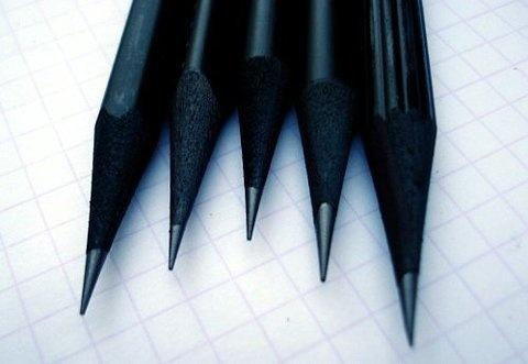 Drop Anchors #black #pencils