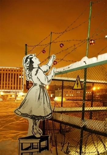 Banksy3jpg.jpg (350×505) #p183 #russian #art #street