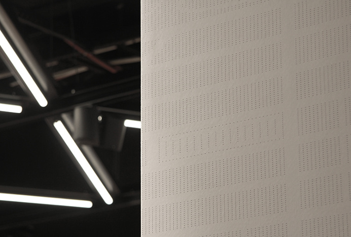A-TO-B by Stockholm Design Lab #wall #symbol #pattern #minimal #grey #photography