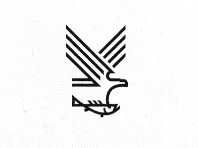 fishing tackle concept direction. #icon #fish #eagle #tackle #logo #fishing