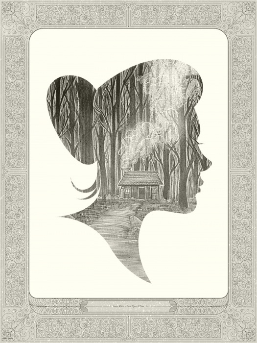 Mondo: The Archive | Kevin Tong Once Upon A Time: Snow White, 2011 #movie #poster
