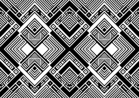 Music Archive - Sci-Fi-O-Rama #pattern