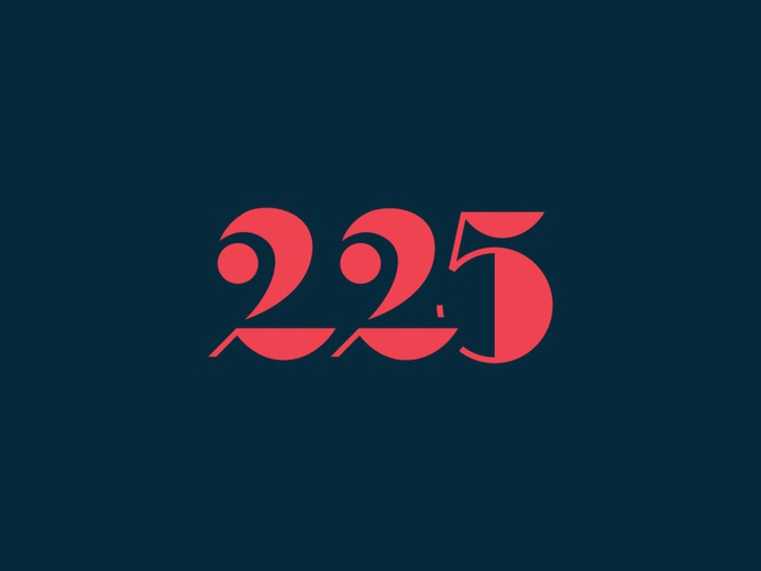 225th Anniversary pt. II knoxville tennessee anniversary 5 2 numbers lettering typography