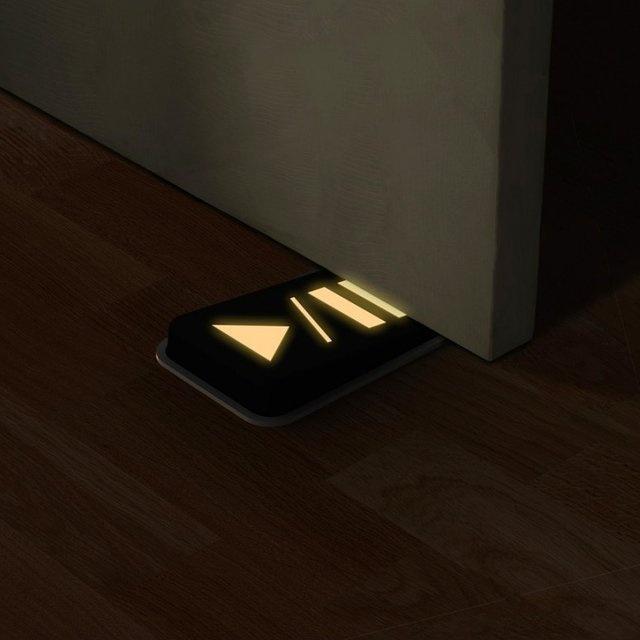Door Pause Glow in The Dark Doorstop #tech #flow #gadget #gift #ideas #cool