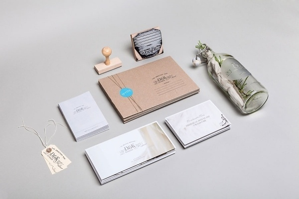 Graphic-ExchanGE - a selection of graphic projects #stamp #natural #kraft #stationery #wedding