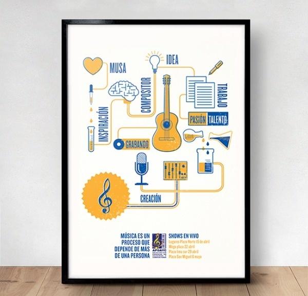APDAYC Campaign - ERICKMELENDEZ #music #print #poster
