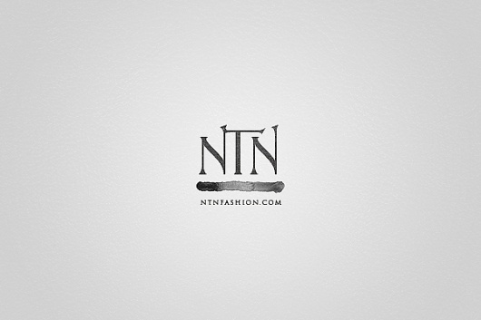 NTN Fashion on the Behance Network #logo #branding