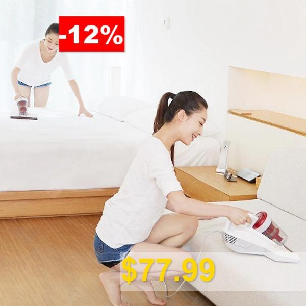 JIMMY #JV11 #Handheld #Anti-mite #Vacuum #Cleaner #Xiaomi #youpin #- #WHITE