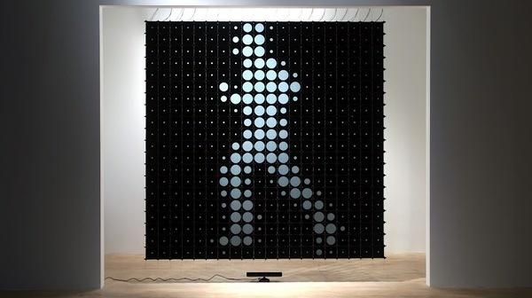 IRIS_Content_01 #installation #monochromatic #lcd