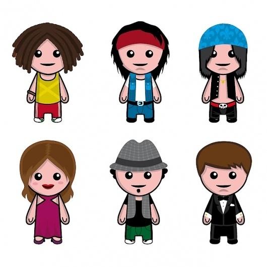 Creative Common People #facebook #illustration #vector #avatars
