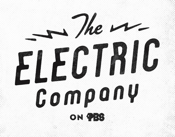 Electric Company #logo #white #black #and