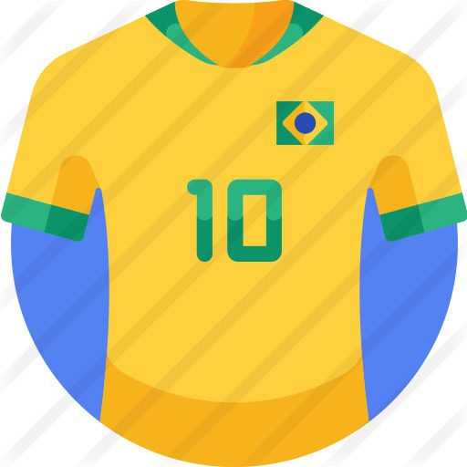 See more icon inspiration related to sports and competition, soccer jersey, football jersey, equipment, soccer, brazil, fashion, sports, football and game on Flaticon.