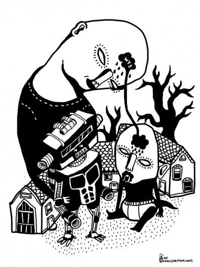 Martin Wollerstam #illustration