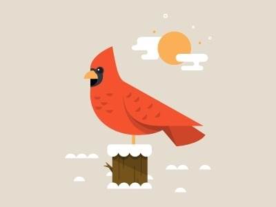 Cardinal #illustration