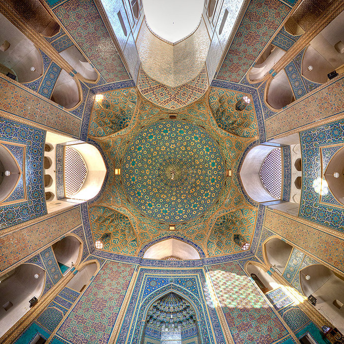 mohammad domiri documents the intricacy of iranian architecture #iran