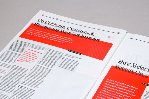 99U Conference :: Branding Collateral 2013 on Behance #layout #red