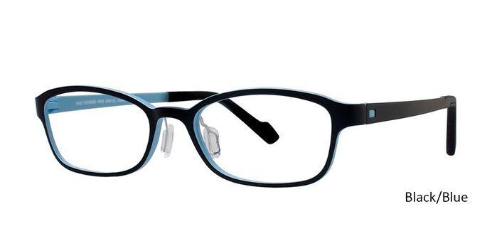 Black/Blue Vivid Eyeglasses Vivid Boutique Ultem 2004.