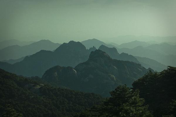 China Jamie Kripke #landscape #nature #china #mountains #green