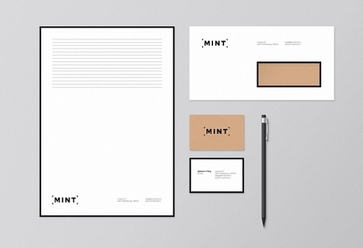 Mint on the Behance Network #identity #branding