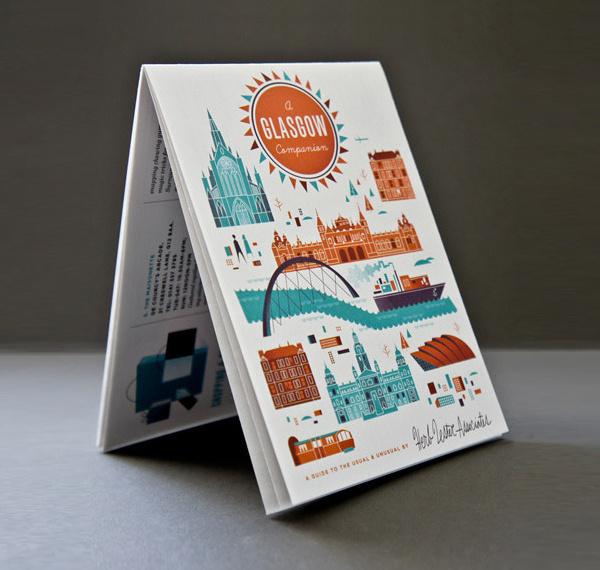 Glasgow Map #design #map #illustration #glasgow #scotland